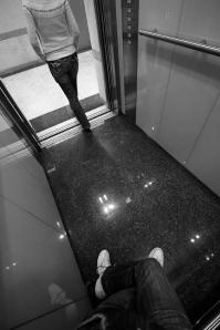 An incident in the elevator
